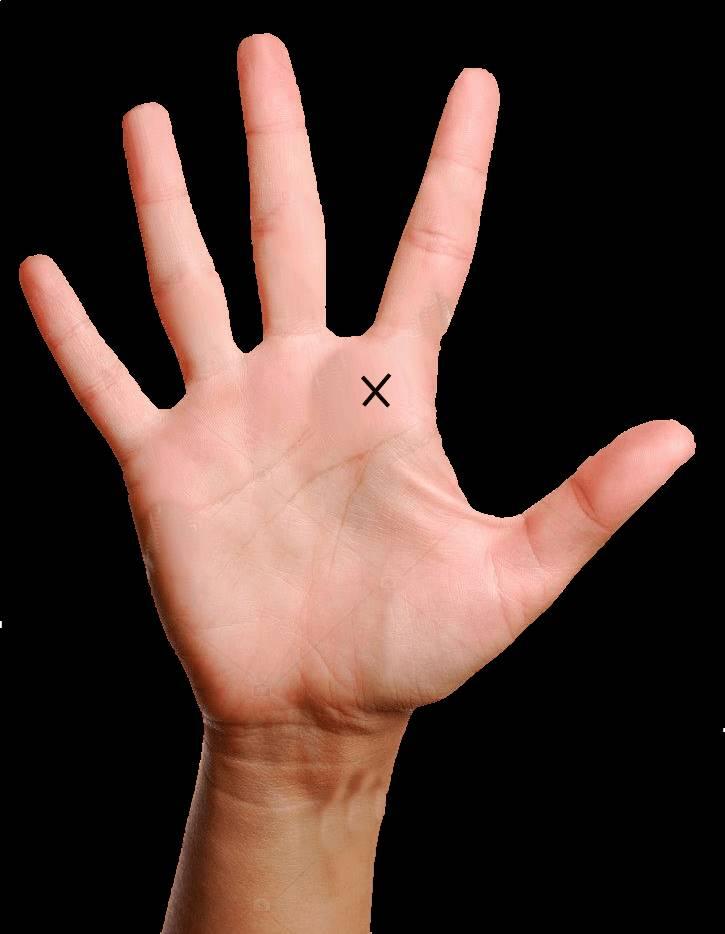 क्या आपके हाथ में है क्रॉस का निशान